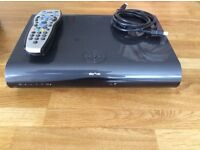 Sky + HD 2 terabytes WIFI box with remote and HDMI & power cable