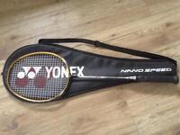 Yonex Badminton racket, as new condition