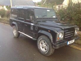 Land Rover Defender Td5 110 station wagon 2005 REDUCED!