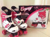 Osprey Quad roller skates size 13 to 3