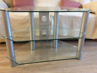 Glass Cornet TV Unit, Used, but in excellent condition