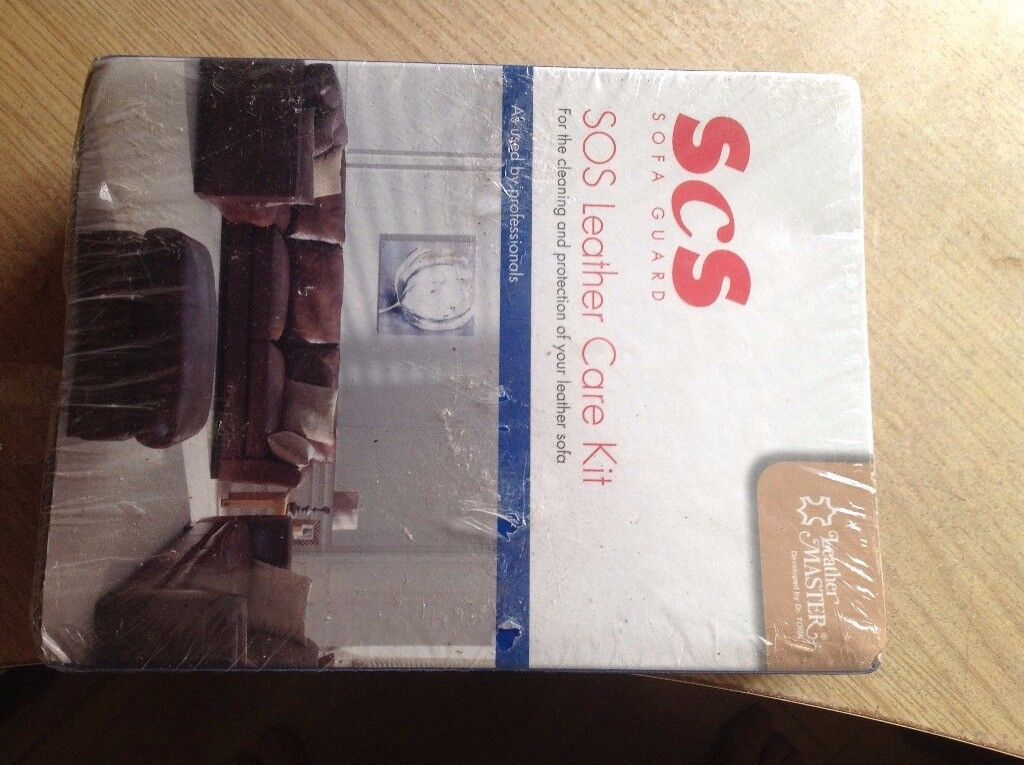 Leather care kit from Scs