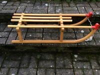 Wooden Sledge (1980's)