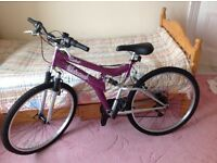 Ladies/young persons mountain bike - never used