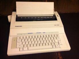 Samsung SQ-1000 typewriter
