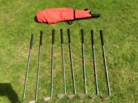 PING CLUBS PLUS BAG AND ACCESSORIES