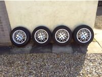 "Ford Focus set of 4 15"" Alloys"