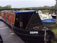 30ft Steel Narrowboat for sale