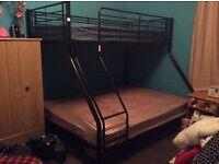 Triple bunk beds must go asap