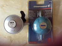 Gas regulators x 2. Both butane one still in original packaging