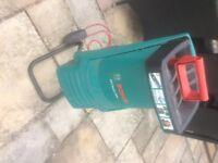 Bosch AXT Rapid 2000 Garden shredder, little used
