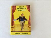 BILLY BUNTER'S BENEFIT - HARDBACK BOOK