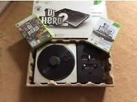 DJ Hero 2 for XBox 360 in original box
