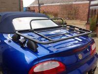 Genuine MG -TF luggage rack.