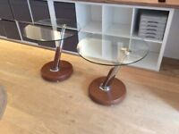 Pair of Dargie Design side/lamp tables