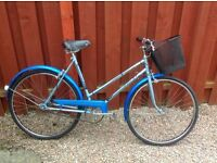 Retro ladies puch elegance town bike -good condition,