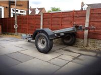 Motorcycle trailer for 3 bikes