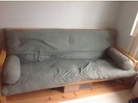 Futon Company Solid Oak Sofa bed