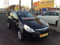 Vauxhall corsa 1.3 cdti diesel 2011 one owner 50000 fsh full mot £30 year road tax
