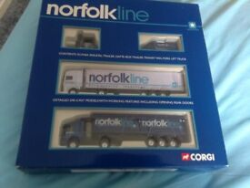 Corgi Norfolk line box set mint condition,