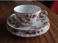Exquisite Vintage Minton Bone China Tea Cups & Saucers w/ Side Plate & More