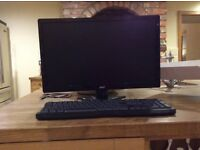 21.5 inch Acer monitor and Led Keyboard