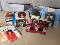 Approx 100 vinyl records