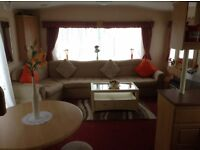Caravan for hire 6 berth close to Stranraer South Ayrshire Available from 8 to11 August 3 night £145