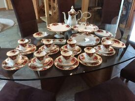 Royal Albert 'Old Country Roses' coffee set