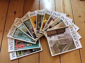 Vintage The world of interiors magazines 1994