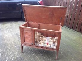 Wooden hutch , rabbit , Guinea pig , ferret etc , possible free delivery