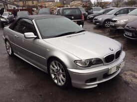 BMW 3 Series 2.2 320Ci Sport 2dr 1 PREVIOUS OWNER++FMDSH! 2004 (54 reg), Convertible