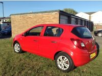Red Vauxhal Corsa For Sale !!!