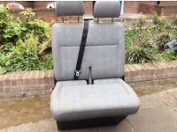 Vw t5 transporter seats