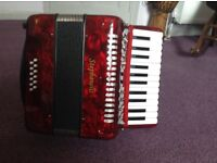 Piano Accordion 12 bass Stephanelli