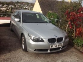 BMW 520D, SE, 6 speed man,owned by my family last 7 years