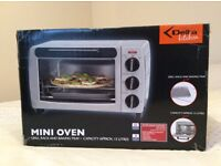 Brand new boxed mini oven