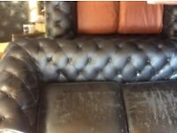 3 X seater Chesterfield sofa