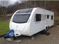 Swift Sprite Quattro FB 2014 6 Berth with full Diamond Pack Fantastic Condition