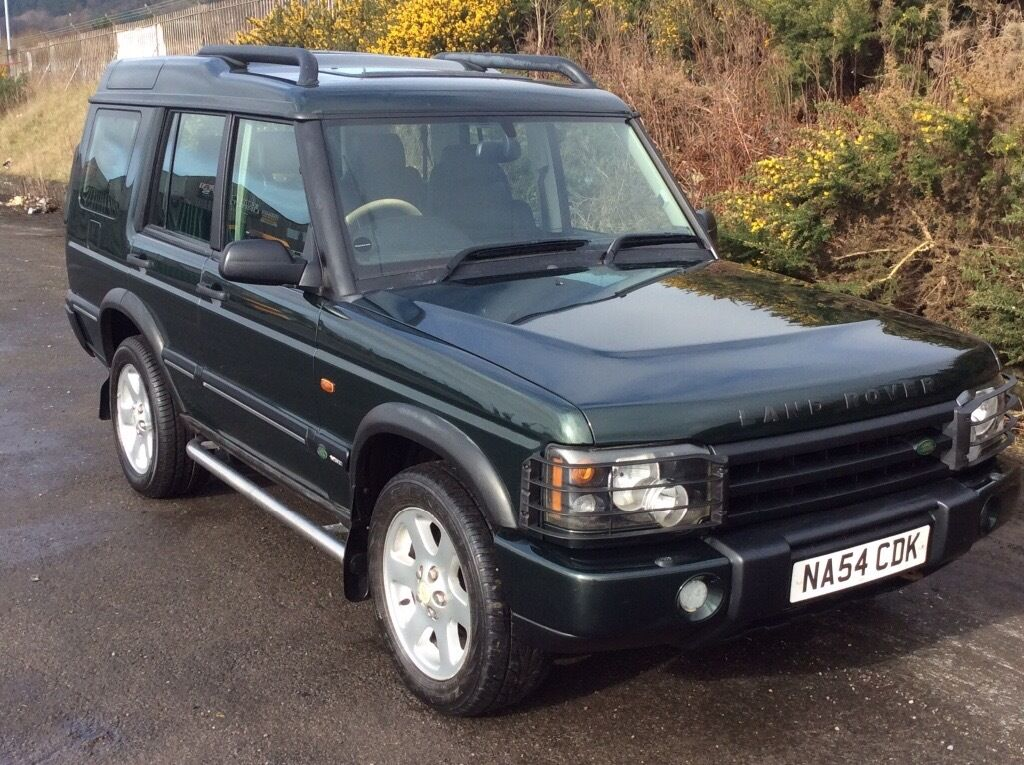 land rover discovery 2004 54 2 5 td5 es epsom green with full black leather new mot 78 000 f s. Black Bedroom Furniture Sets. Home Design Ideas