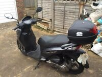 In excellent condition very low mileage 2 sets of keys top box