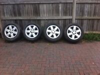 4 x Original Range Rover wheels and tyres 255/55/19