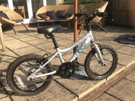 Silver Ridgeback MX16 16 inch boys bicycle