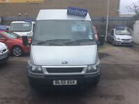 Ford transit 2.2 diesel 2006 MWB mid height £1995 no vat .