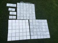 Mosaic tiles whistle/grey
