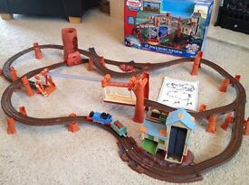 Thomas Trackmaster Train Set - Zip Zoom and Logging Adventure