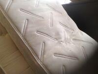 Dunilopillo memory foam single mattress,£65.00