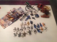 Large collection of Lego Star Wars, 22 figures!!