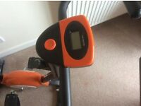 Exercise bike small and compact in as new condition
