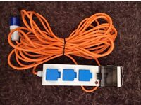 Camping Tent Mobile Mains Electric Power Supply Hook Up Unit with RCD